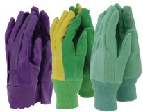 Town & Country Ladies Gloves - 3 Pair Pack